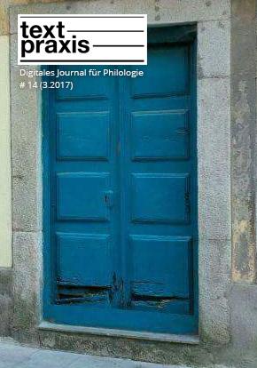 Textpraxis #14 Cover