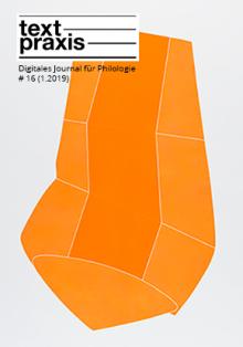 Textpraxis #16 Cover