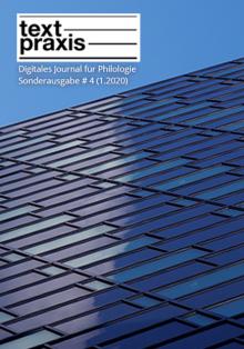 Textpraxis Sonderausgabe #4 Cover