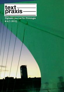 Textpraxis # 4 Cover