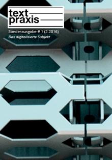 Textpraxis Sonderausgabe # 1, Cover