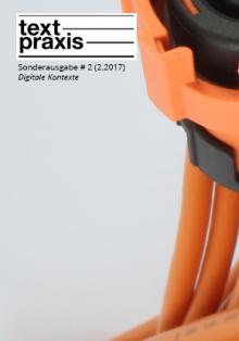 Textpraxis Sonderausgabe # 2, Cover